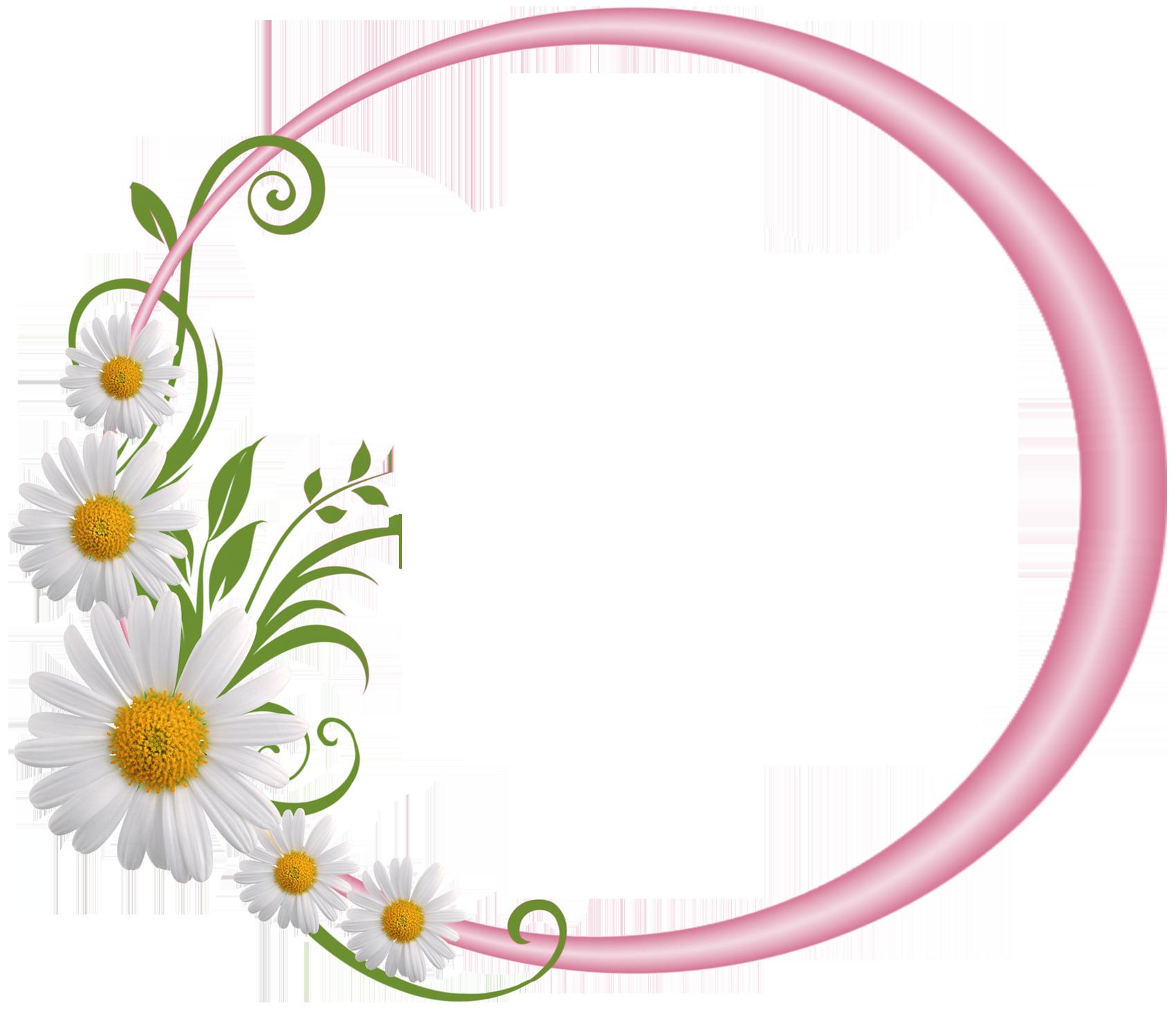 Floral Frame PNG Images Transparent Free Download.