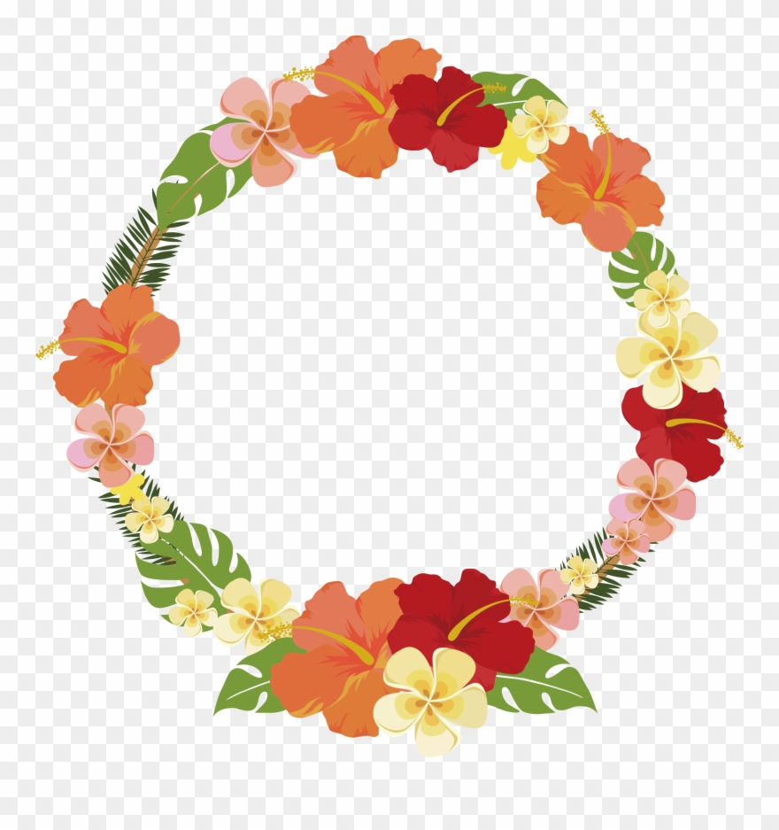 Png Flowers Round Buttons Svg Library Download Clipart.