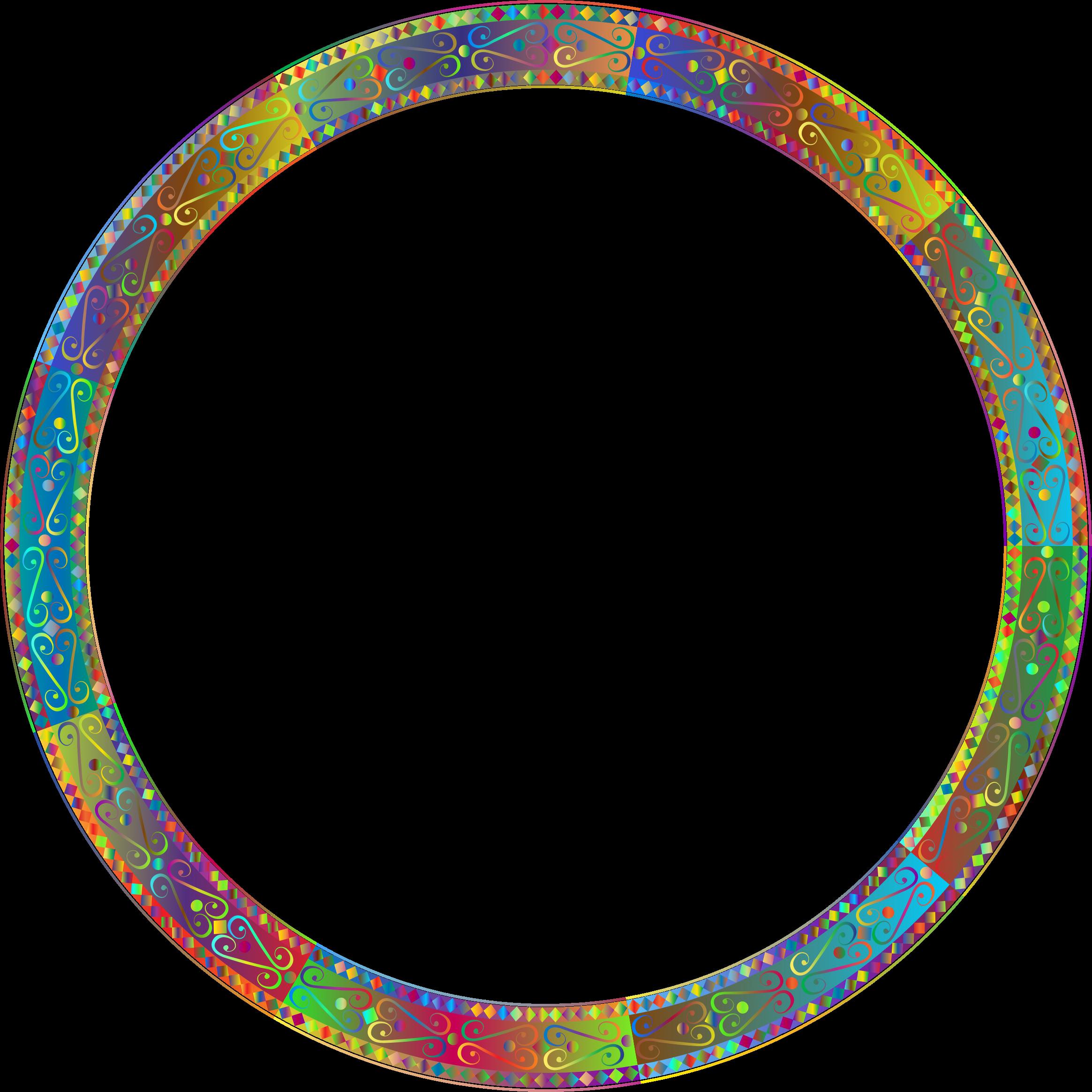 Download Round Frame PNG Transparent.