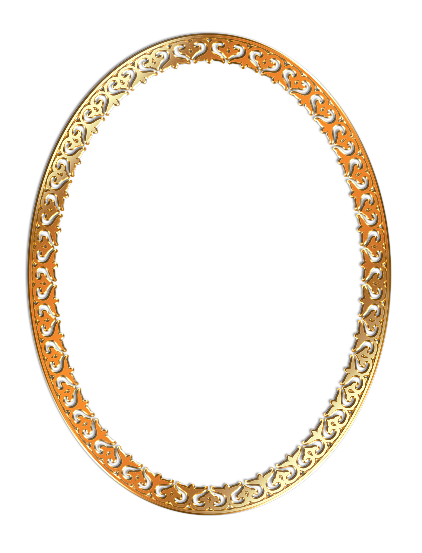 Round Frame PNG Free Download.