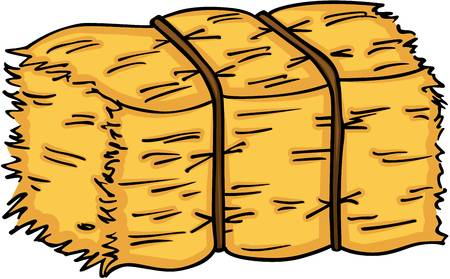 692 Hay free clipart.