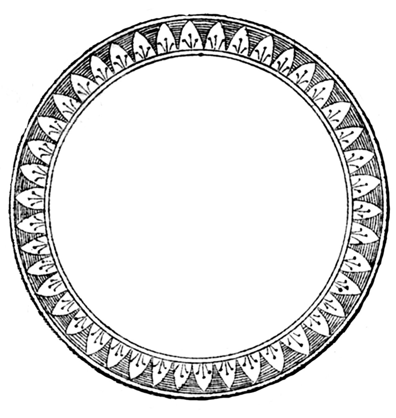 Clip Art Round Things Clipart.
