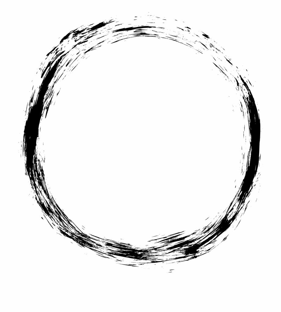 Grunge Circle Frame.