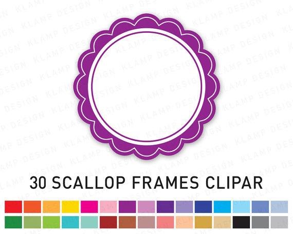 Digital Frame Clipart: \
