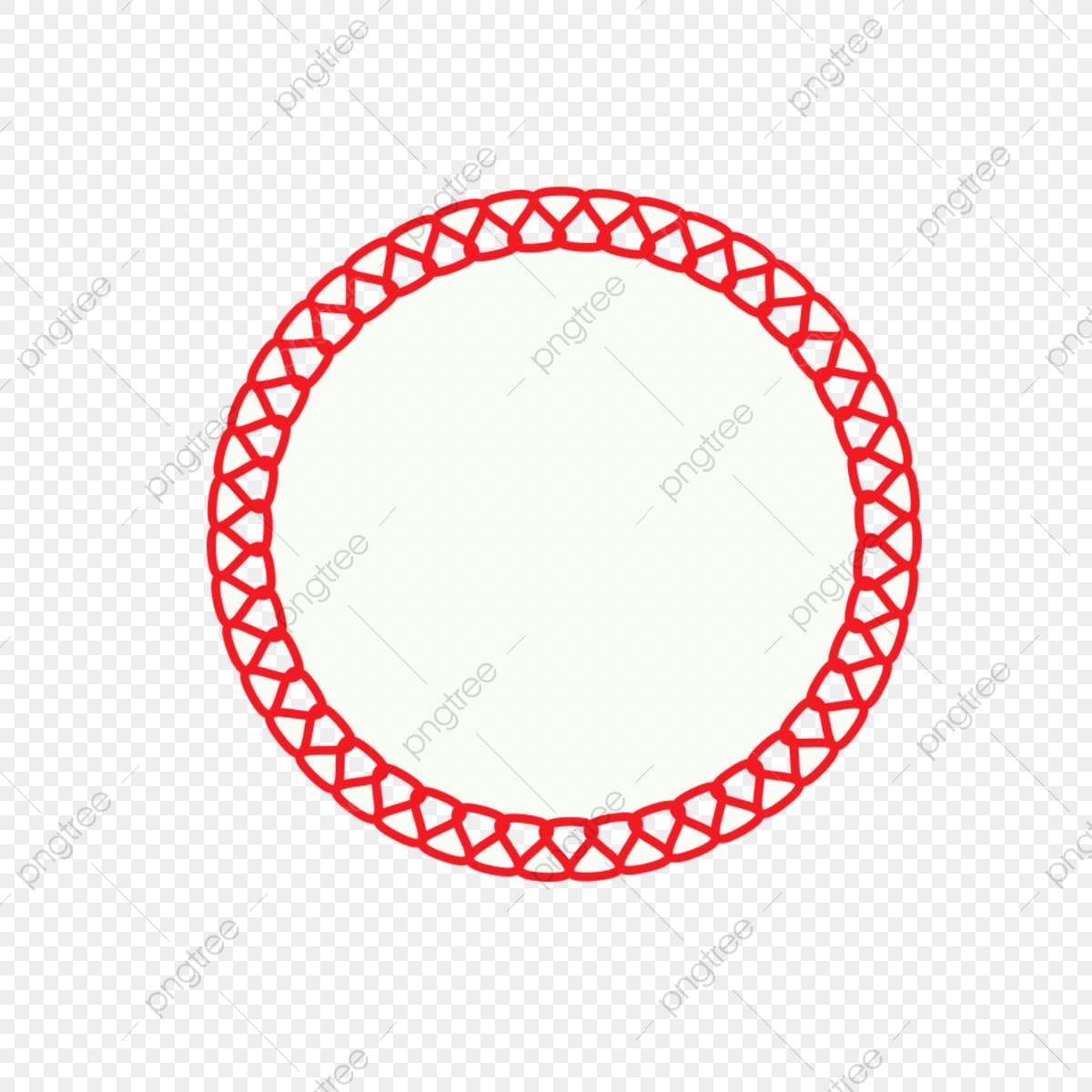 Decorative Round Label White Red, Label, Round, White PNG.