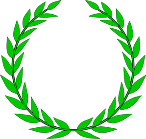 Rounded Leaf Clipart.