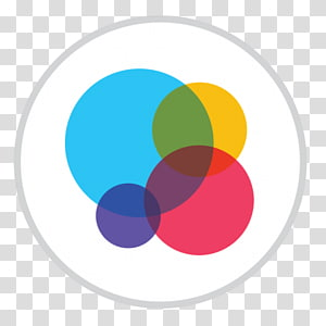 Circles , computer brand graphic design , Game Center.