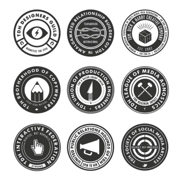 Image result for round logos.