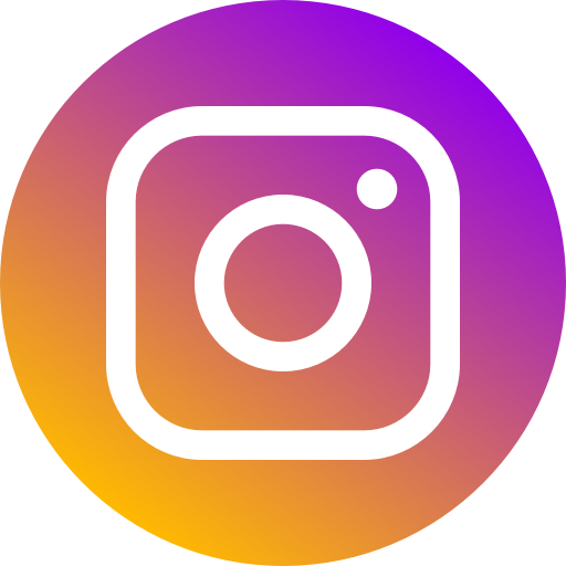 Circle, instagram, logo, media, network, new, social icon.