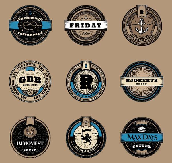 20+ Examples of Round Logo Designs.