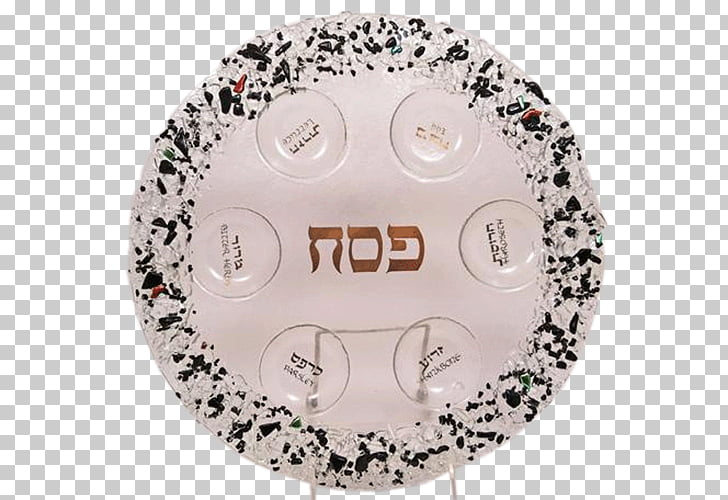 Passover Seder plate Matzo, Plate PNG clipart.