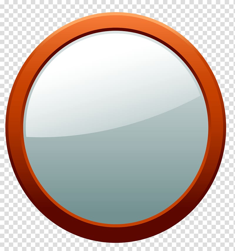 Circle Magnifying glass, Round mirrors transparent.