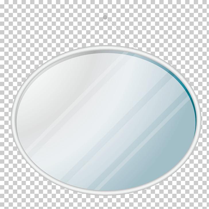 Mirror, Round Mirror PNG clipart.