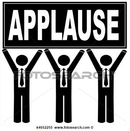 Round of applause clipart 5 » Clipart Portal.