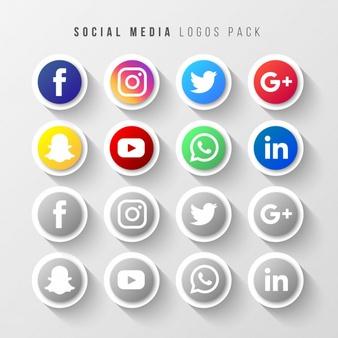 Social Media Icons Vectors, Photos and PSD files.