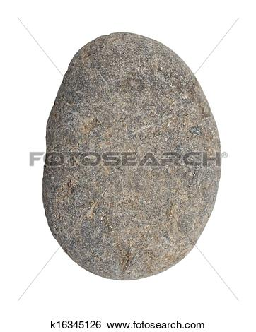 Stock Photography of stone on a white background k7277681.