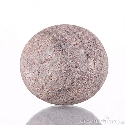 Round Stone Royalty Free Stock Images.