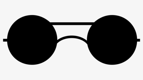 Round Glasses Clipart, HD Png Download , Transparent Png.