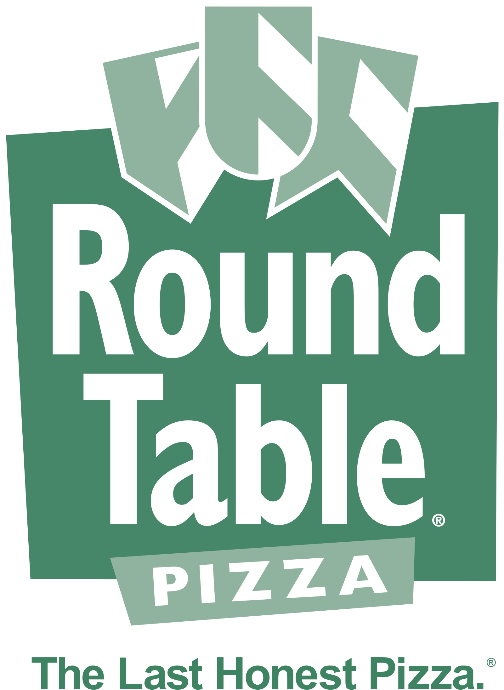 Round Table Pizza Logo Png Transparent.