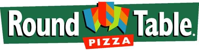 Round table pizza Logos.