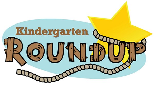 Kindergarten roundup clipart.