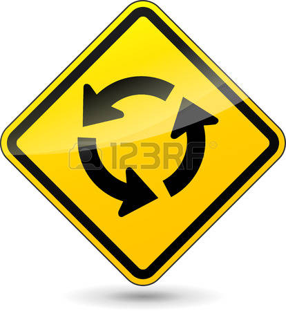 1,014 Roundabout Traffic Stock Vector Illustration And Royalty.