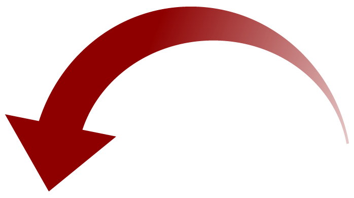 Arrow clipart rounded.