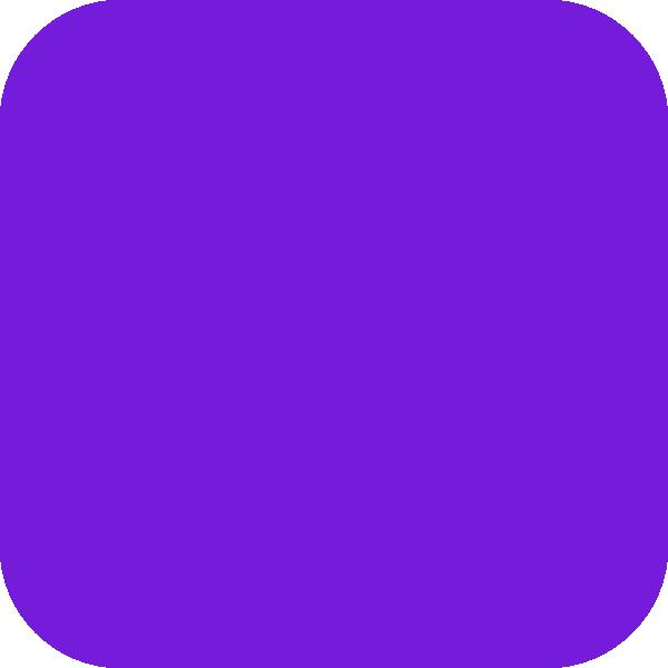 Purple Round Corners Square Clip Art at Clker.com.