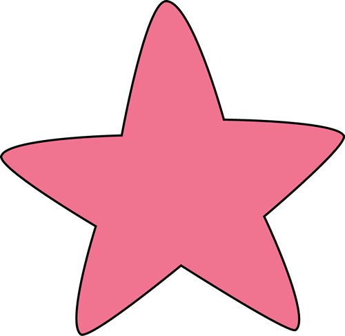 Rounded Star Clipart.
