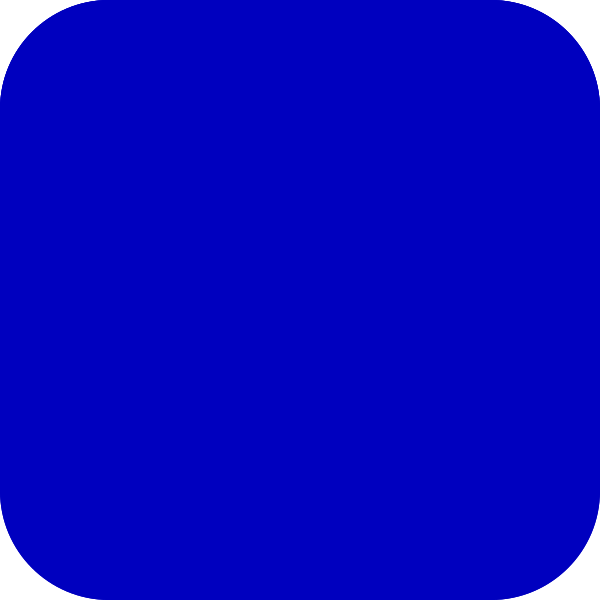 Blue Rounded Square Clip Art at Clker.com.