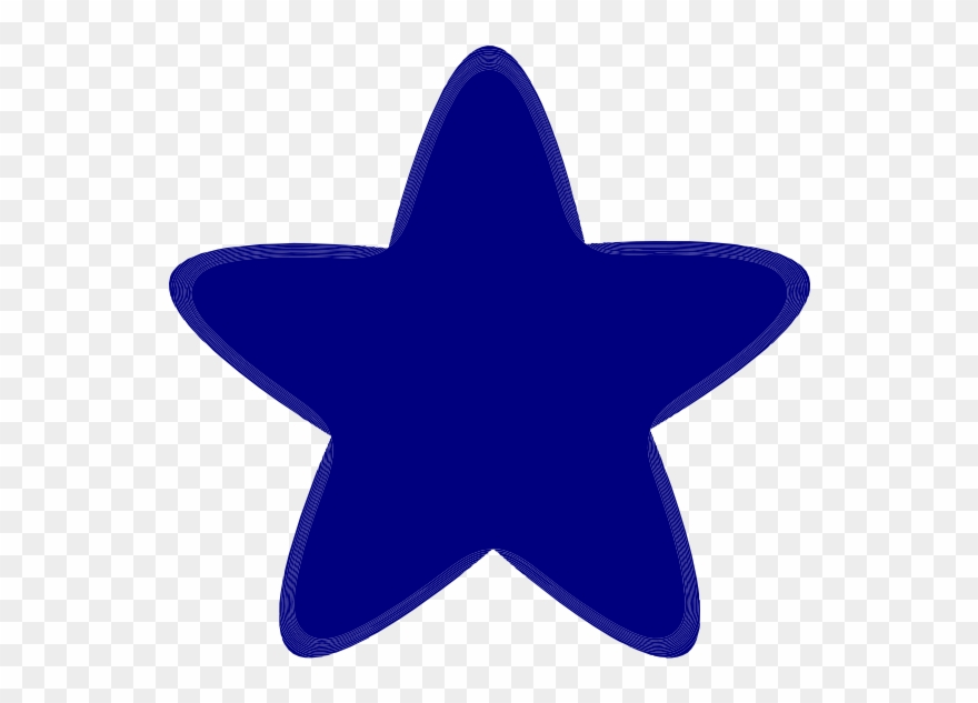 Rounded Star Clip Art.