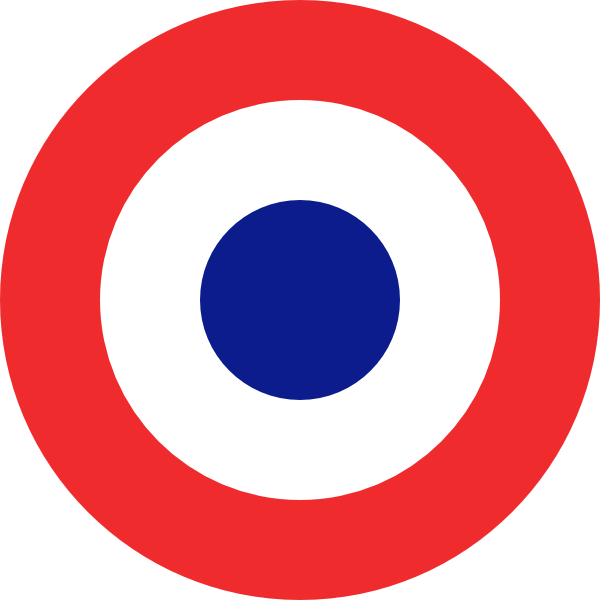 French Roundel Clip Art at Clker.com.