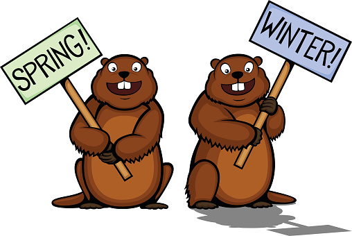 Groundhog Day Clip Art, Groundhog Day Free Clipart.