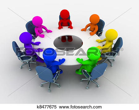 Round table Stock Illustrations. 3,492 round table clip art images.