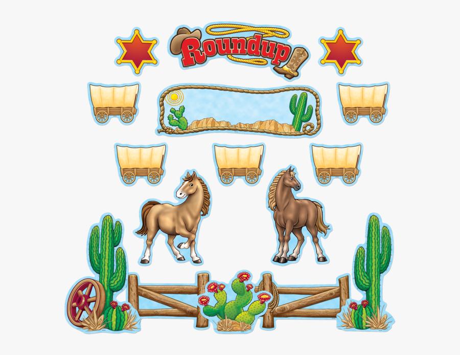 Wild West Clipart Western Roundup.