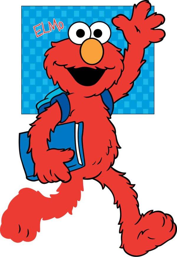 Free Elmo Clipart.