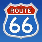 Route 66 Clip Art.