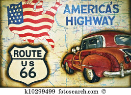 Route 66 Illustrations and Stock Art. 120 route 66 illustration.