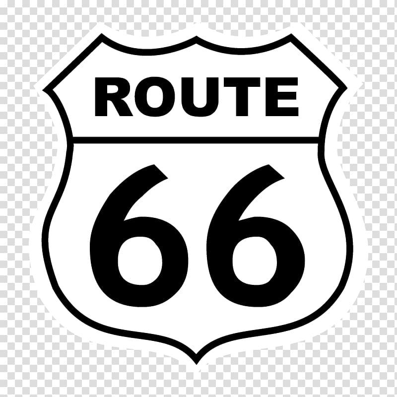 U.S. Route 66 Logo Road US Numbered Highways, route 66.