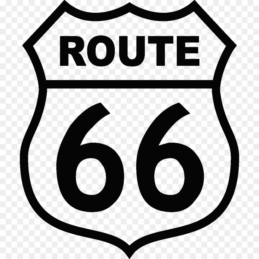 Route 66 Logo png download.
