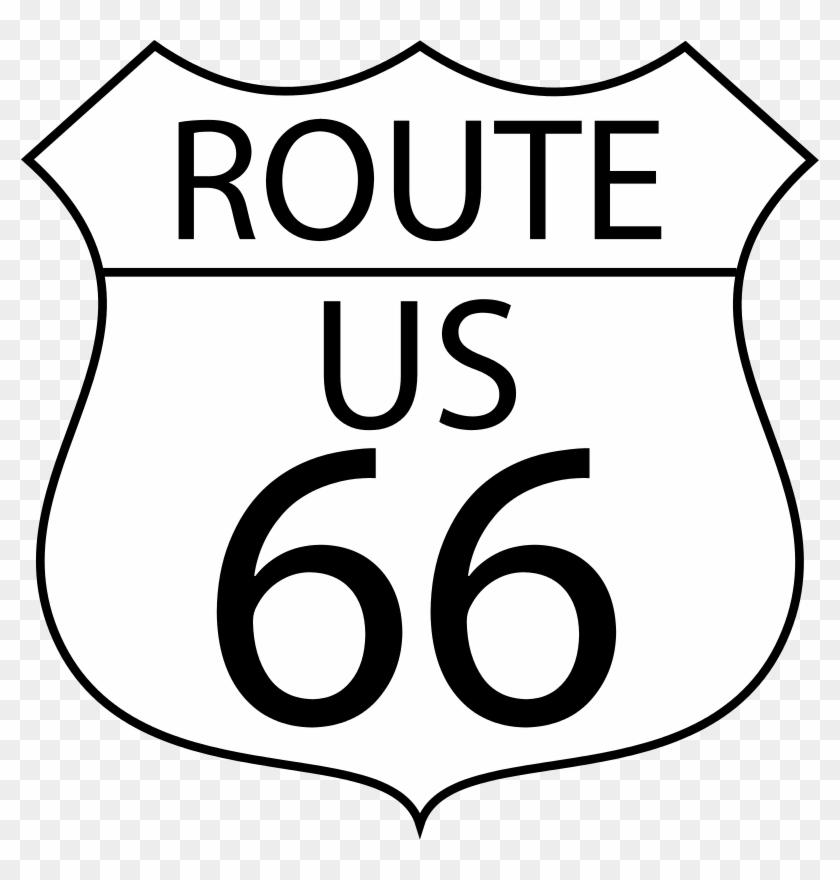 Route 66 Clipart.