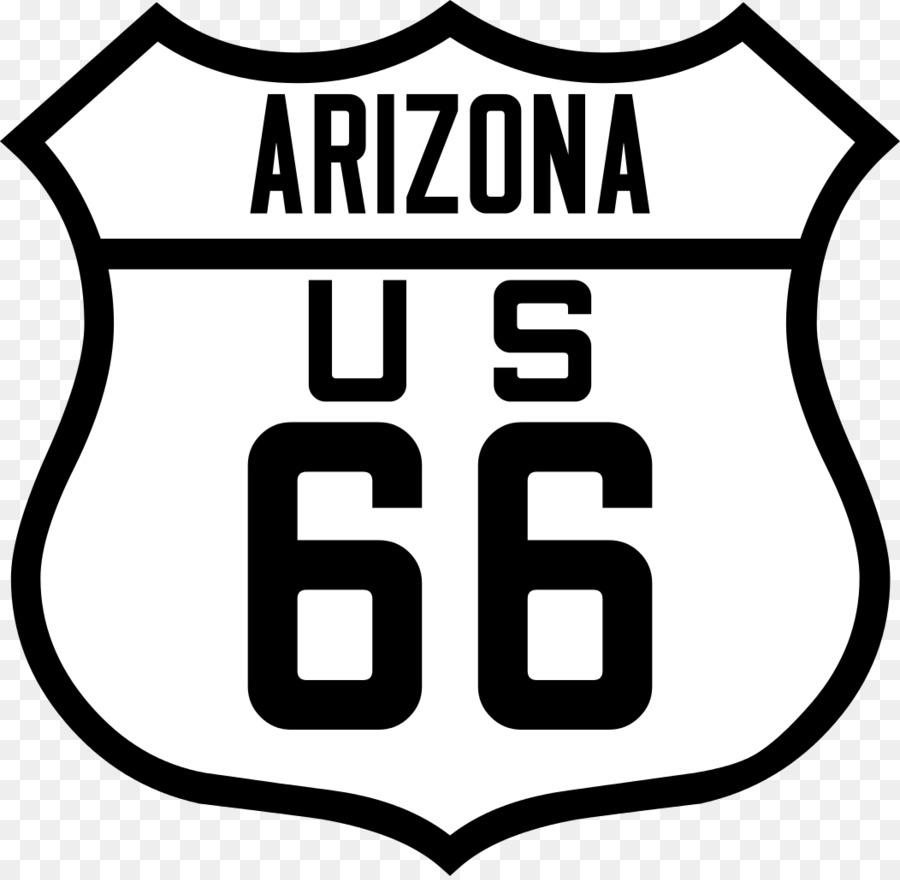 Route 66 Logo clipart.