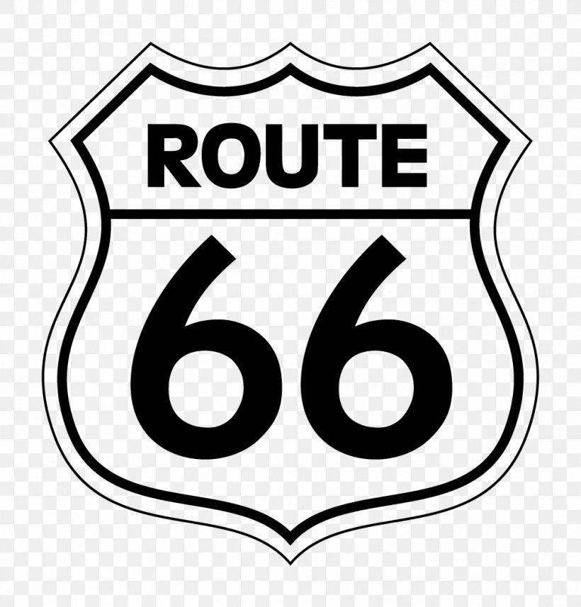 U.S. Route 66 Road Drawing Clip Art, PNG, 1008x1054px, Us.