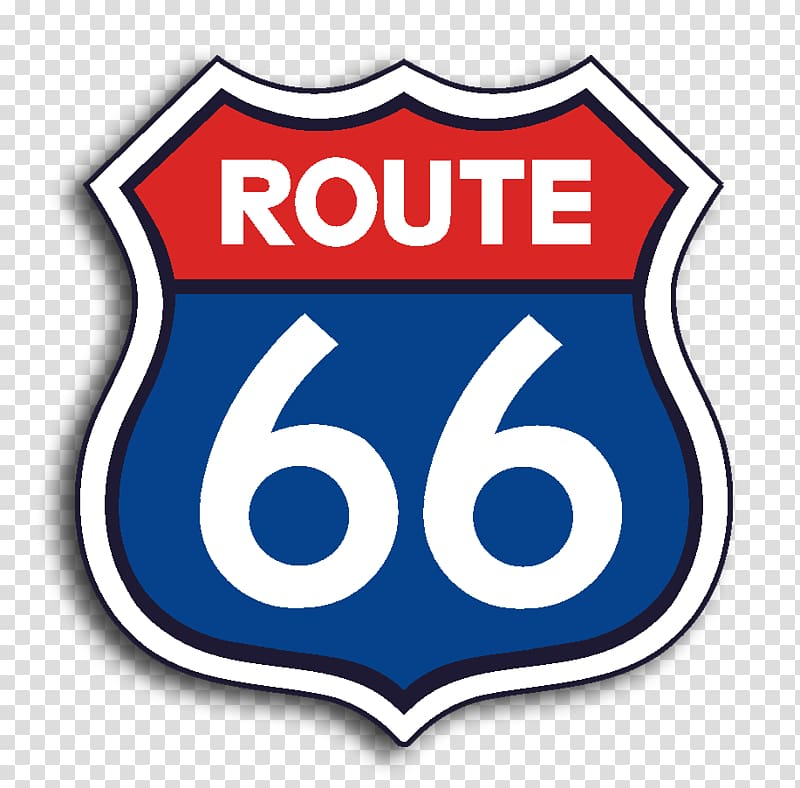 U.S. Route 66 Logo Brand Road Highway, route 66 transparent.