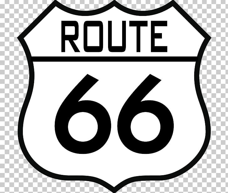 Brand U.S. Route 66 Logo Sign PNG, Clipart, Area, Black.