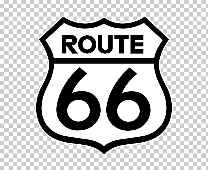 U.S. Route 66 Santa Monica Road Highway Decal PNG, Clipart.