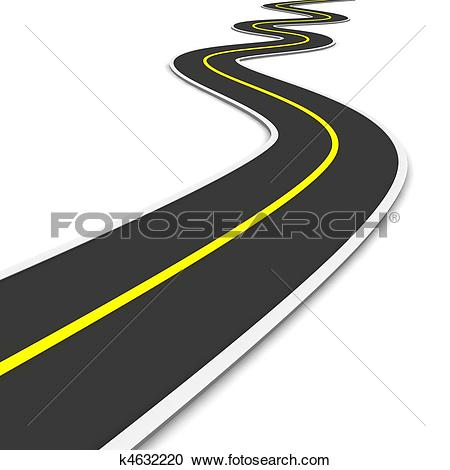 Stock Illustrations of Road construction concept k5237580.