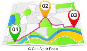 Route Clip Art.