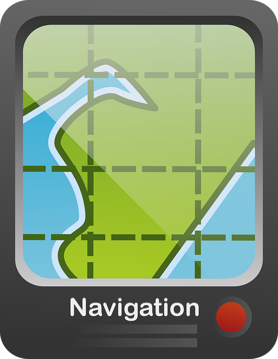 Free vector graphic: Route Guidance System, Navigation.