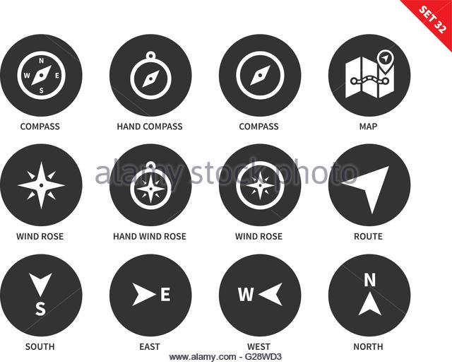 Route Guidance System Stock Vector Images.